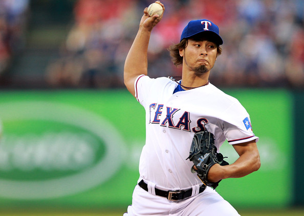 Yu Darvish - New York Yankees v Texas Rangers