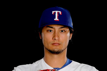 Yu Darvish Texas Rangers Photo Day