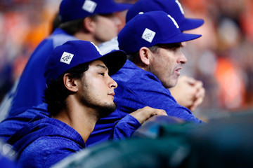 Yu Darvish World Series - Los Angeles Dodgers v Houston Astros - Game Five
