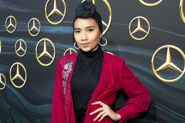Yuna Mercedez-Benz USA's Official Awards Viewing Party - Arrivals