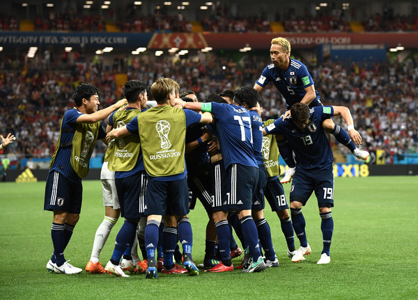 Belgium vs. Japan: Round Of 16 - 2018 FIFA World Cup Russia