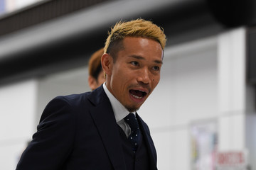 Yuto Nagatomo Japan National Team Returns Home