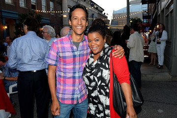 Yvette Nicole Brown Danny Pudi 'Hot in Cleveland' Afterparty in Studio City
