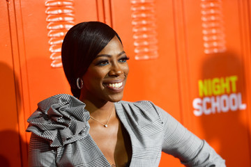 """Yvonne Orji Premiere Of Universal Pictures' """"Night School"""" - Arrivals"""