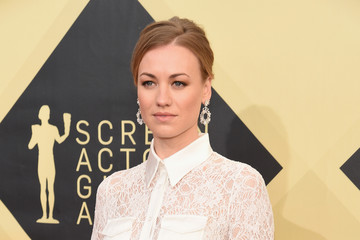 Yvonne Strahovski 24th Annual Screen Actors Guild Awards - Red Carpet