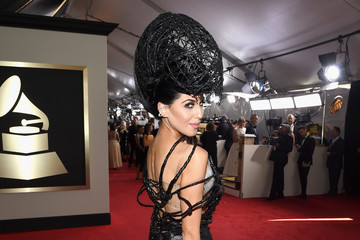 Z-LaLa The 58th GRAMMY Awards - Red Carpet