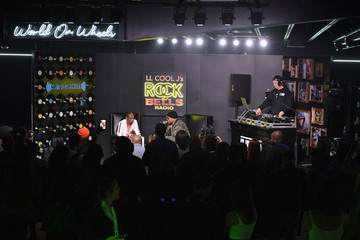 Z Trip LL COOL J Celebrates the Launch of His Exclusive SiriusXM Channel 'Rock The Bells Radio' At World On Wheels In Los Angeles