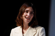 Alexa Chung, model and founder of brand ALEXACHUNG attends the ZEITMagazin X VOGUE conference at Kraftwerk Mitte on January 17, 2019 in Berlin, Germany.
