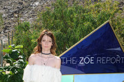 Cory Kennedy arrives at ZOEasis presented by The Zoe Report and Guess on April 16, 2016 in Palm Springs, California.