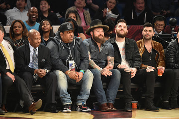 Zac Brown Celebrities Attend The 66th NBA All-Star Game