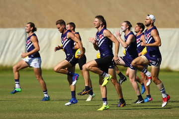 Zac Dawson Fremantle Dockers Training Session