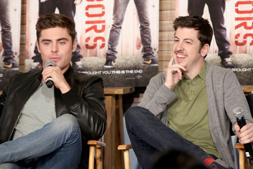 Zac Efron Christopher Mintz-Plasse Funny Or Die Clubhouse + Facebook Pop-Up HQ @ SXSW - Day 1