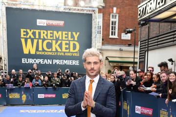"Zac Efron ""Extremely Wicked, Shockingly Evil And Vile"" European Premiere"