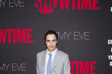 Zac Posen Arrivals at the Showtime Emmy Eve Soiree