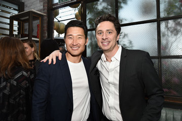Zach Braff Sony Pictures Television LA Screenings Party