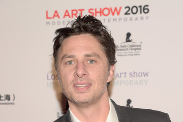 Zach Braff LA Art Show and Los Angeles Fine Art Show's 2016 Opening Night Premiere Party Benefiting St. Jude Children's Research Hospital - Arrivals