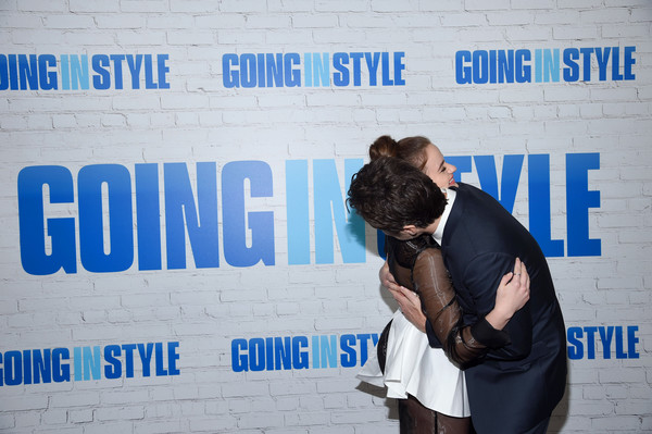 'Going in Style' New York Premiere - Inside Arrivals