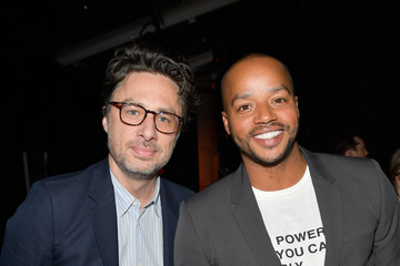 Zach Braff Premiere of Disney Pictures and Lucasfilm's 'Star Wars: The Last Jedi' - Red Carpet