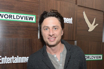 "Zach Braff GREY GOOSE Blue Door Hosts ""Wish I Was Here"" Dinner - 2014 Park City"