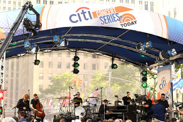 Zach Filkins Drew Brown Citi Concert Series On 'Today' Presents One Republic