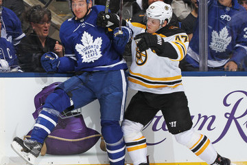 Zach Hyman  Boston Bruins Vs. Toronto Maple Leafs - Game Three