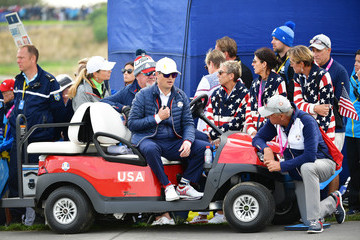 Zach Johnson 2018 Ryder Cup - Morning Fourball Matches