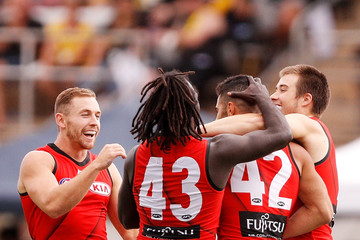 Zach Merrett Essendon v Richmond - JLT Community Series