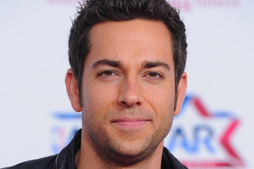 Zachary Levi T-Mobile Magenta Carpet At The NBA All-Star Game - Arrivals
