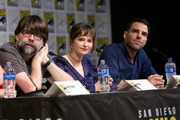 Zachary Quinto Ashleigh Cummings AMC At Comic Con 2019 - Day 2