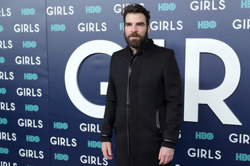 Zachary Quinto The New York Premiere of the Sixth and Final Season of 'Girls' - Red Carpet