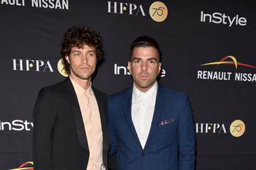 Zachary Quinto Miles Mcmillan HFPA & InStyle Annual Celebration of 2017 Toronto International Film Festival - Arrivals