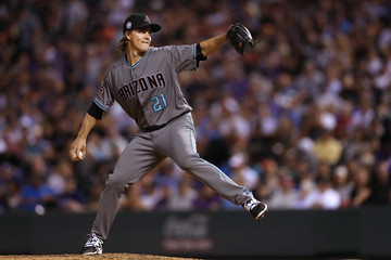 Zack Greinke Arizona Diamondbacks vs. Colorado Rockies