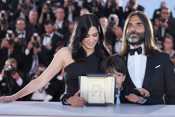 Zain Alrafeea Palme D'Or Winner Photocall - The 71st Annual Cannes Film Festival