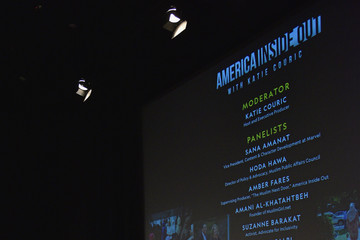 Zainab Salbi National Geographic's Special Screening Of 'America Inside Out With Katie Couric' In Association With Women In The World