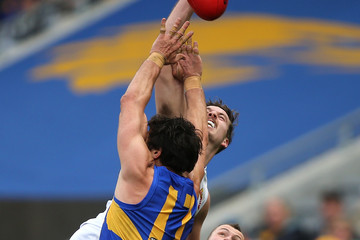 Zaine Cordy AFL Rd 18 - West Coast vs. Western Bulldogs