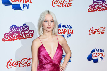Zara Larsson Capital FM Jingle Bell Ball Day 2 - Red Carpet Arrivals