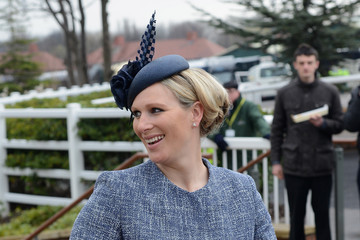 Zara Phillips Fashion And Celebrities At Aintree - Day 3 - Grand National Day