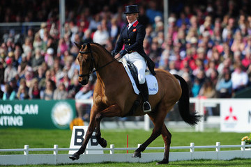 Zara Phillips Badminton Horse Trials - Day Three