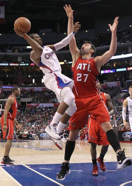 Chris Paul Hawks Zaza Pachulia P...
