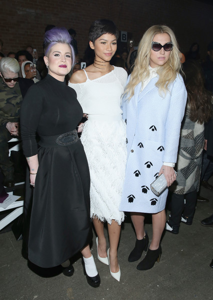 Christian Siriano - Front Row - Mercedes-Benz Fashion Week Fall 2015