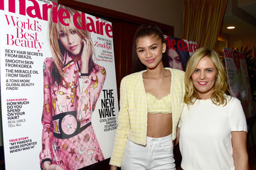 Zendaya Coleman Marie Claire Hosts 'Fresh Faces' Party Celebrating May Issue Cover Stars - Inside