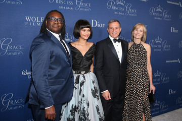 Zendaya Coleman Arrivals at the Princess Grace Awards Gala — Part 2