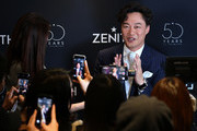 Singer Eason Chan attends the Zenith press conference during the Baselworld 2019 watch trade fair on March 20, 2019 in Basel, Switzerland. The Baselworld trade show runs from March 21-26.