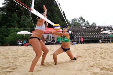 Zhang Xi FIVB Gstaad Grand Slam: Day 2