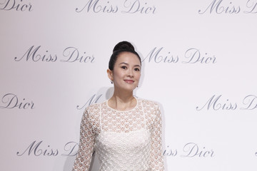 Zhang Ziyi Miss Dior Exhibition in Shanghai