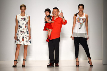 Zhuliang Li Mercedes-Benz Fashion Week Spring 2015 - Official Coverage - Best Of Runway Day 5