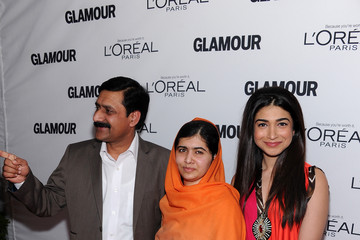 Ziauddin Yousafzai Stars at the Glamour Honors the Women of the Year