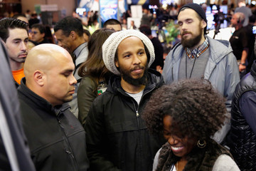 Ziggy Marley SiriusXM at Super Bowl XLVIII Radio Row