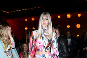 Devon Windsor attends the Zimmermann fashion show during February 2020 - New York Fashion Week: The Shows at SIR Stage37 on February 10, 2020 in New York City.