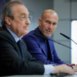 Zinedine Zidane and Florentino Perez Photos